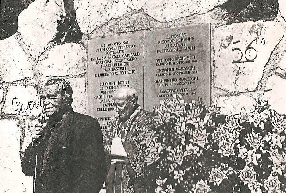 Brach Giuseppe Brighenti e don Giovanni Finazzi
