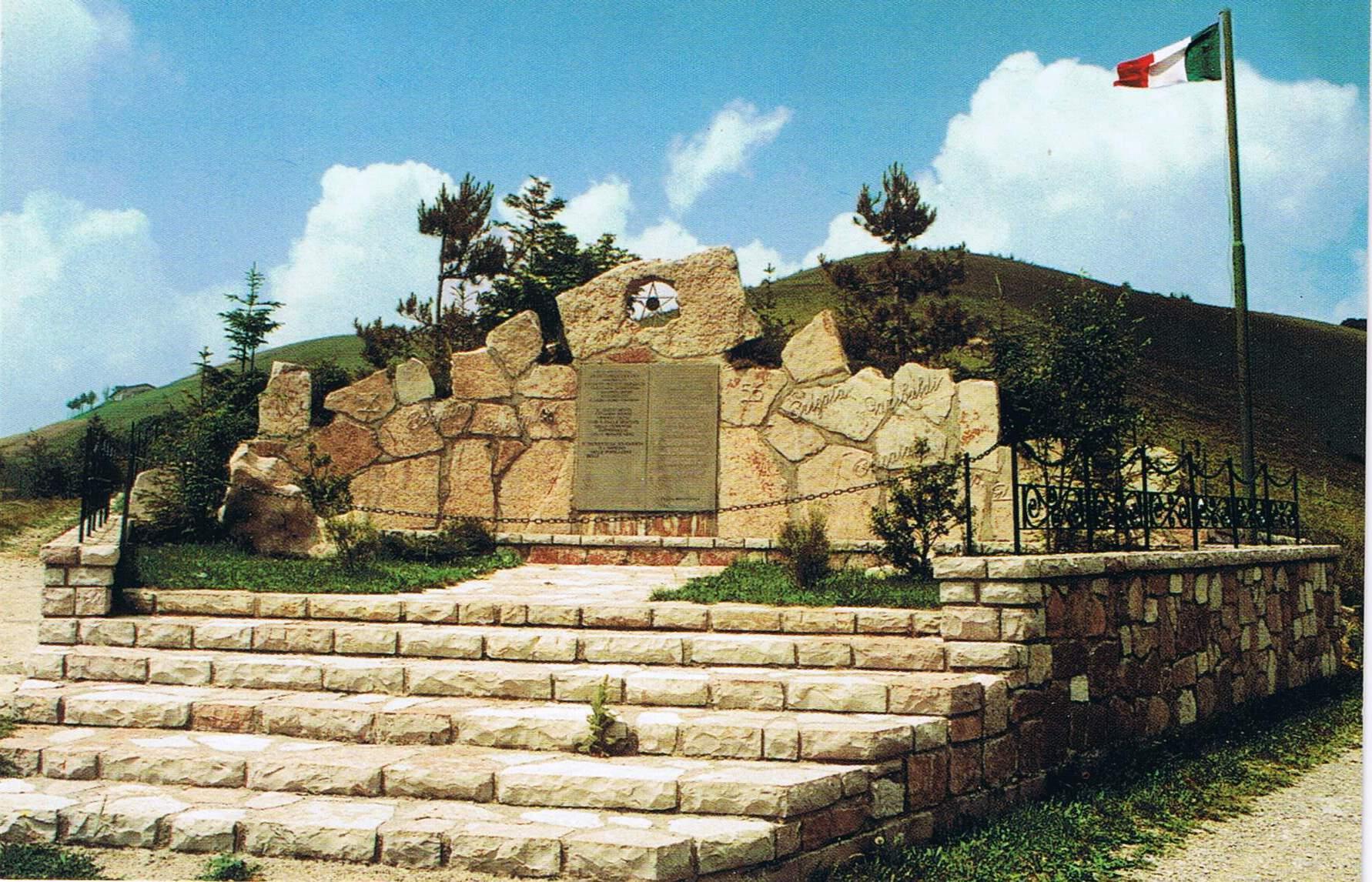 monumento ai partigiani del colletto di Fonteno
