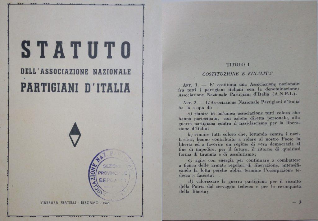 Statuto ANPI 1944